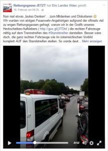 Freie Fahrspur oder Rettungsgasse?!?