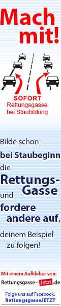 Rettungsgasse-JETZT.de Banner
