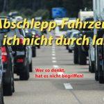 """Denkfehler im Stau - """"Hilfsfahrzeuge"""""""