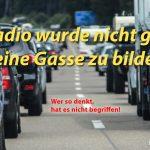 """Denkfehler im Stau - """"Radio"""""""