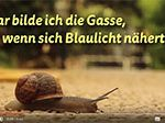 "Screenshot Youtube-Video, ""Gedanken einer Schnecke"" - Video mit Rettungsgasse-Animation"